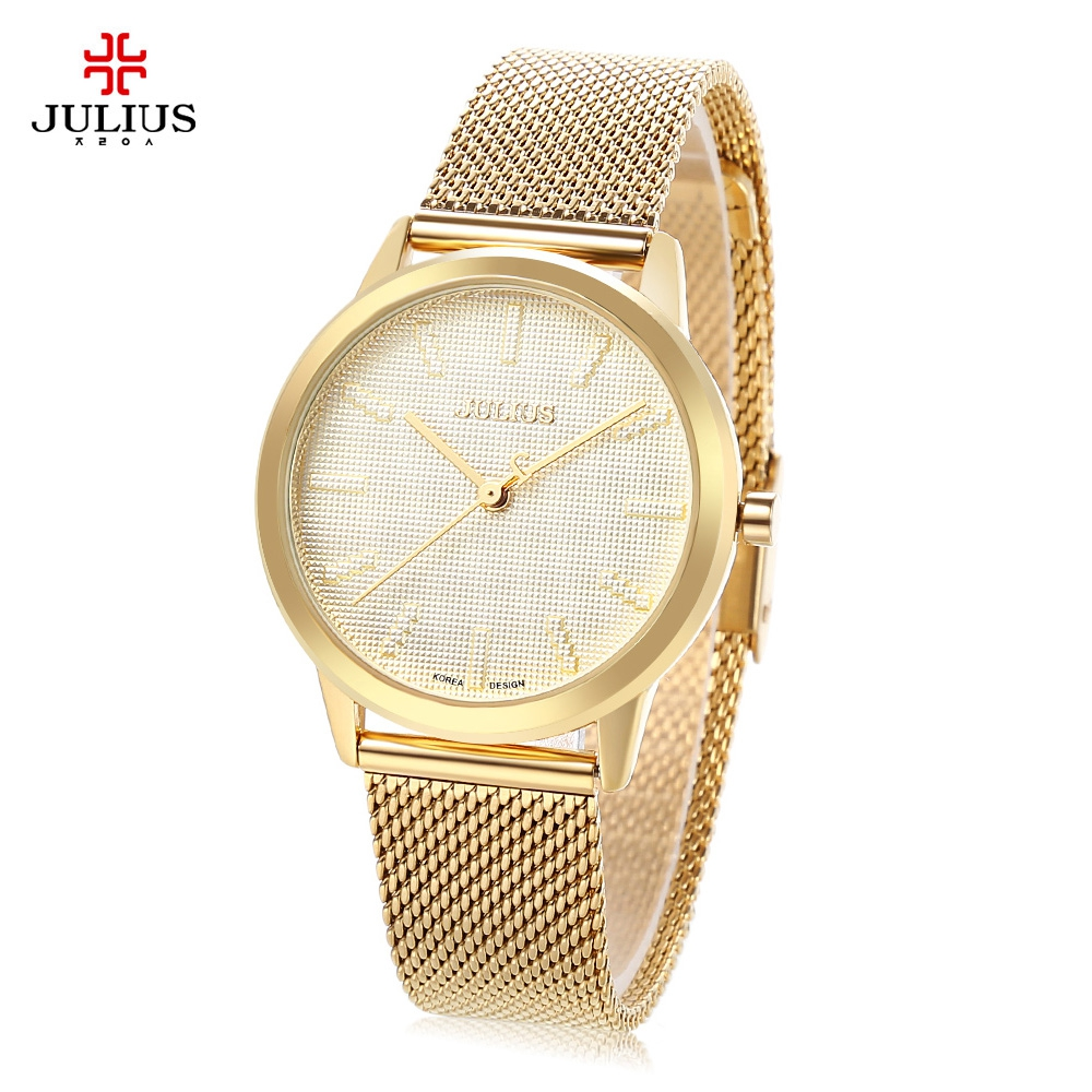 2017 New Top Brand luxury Fashion Female Ladies Watch Womens Casual Watches Quartz Wristwatch Round Gold Display Gift for Girl<br>