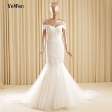 Buy Beach V neckline Ivory/White Lace Short Sleeves Lace Wedding Dress 2017 Mermaid african Wedding Gown robe de mariage for $182.40 in AliExpress store