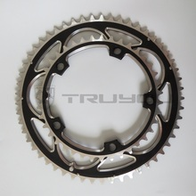 TRUYOU Chainring BCD130 56T 54T 53T 52T 50T 48T 46T 44T 39T 38T Chainwheel Road Bicycle Folding Bike CNC for Double Chain Wheel(China)