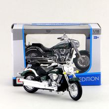 Maisto/1:18 Scale/Diecast model motorcycle toy/KAWASAKI Vulcan 2000 Model/Delicate Gift or Toy/Colllection/For Children