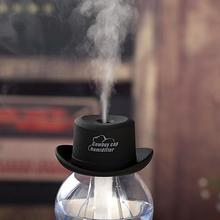 New Design USB cowboy hat mini hat cap humidifier household water bottle cover humidifier