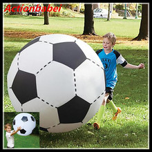 New 1pcs Gigantic Inflatable Soccer Volleyball Children Outdoor Beach Play Toys Adult Garden Party Supply Kids Giant Football(China)