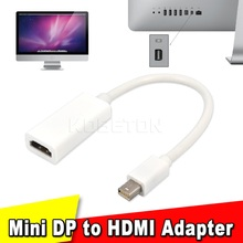 Thunderbolt Mini DisplayPort Display Port DP to HDMI Adapter Cable For Apple Mac Macbook Pro Air Notebook