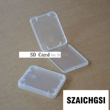 SZAICHGSI wholesale 2000pcs/lot CF TF XD SD Card Plastic Case box new arrival good quality by fast shipping(China)