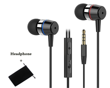Original FQ003 bass music earphone stereo hifi headset with microphoe for iPhone Xiaomi mi samsung huawei sony oppo phones mp3