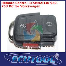 3 pc/lot  Remote Control 315MHZ:1J0 959 753 DC for Volkswagen Car Keys with factory peice