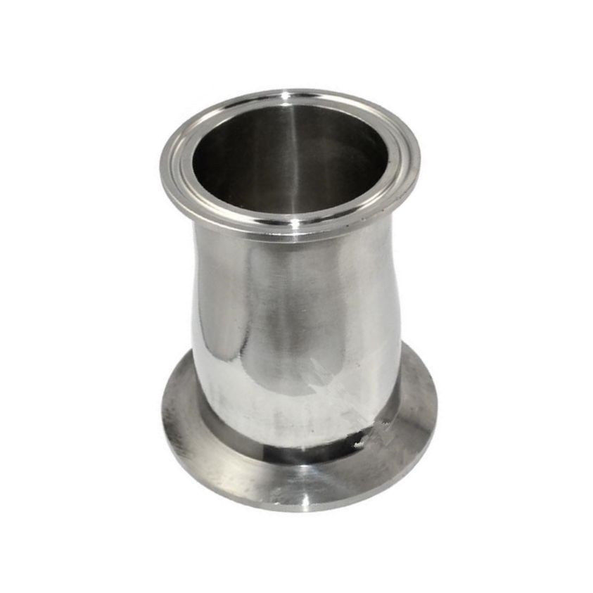 1pcs 45mm to 63mm 45-63mm 1.75 To 2.5 304 316 Stainless Steel 304SS 316SS Sanitary Tri Clamp Ferrule Welding Style Reducer<br><br>Aliexpress