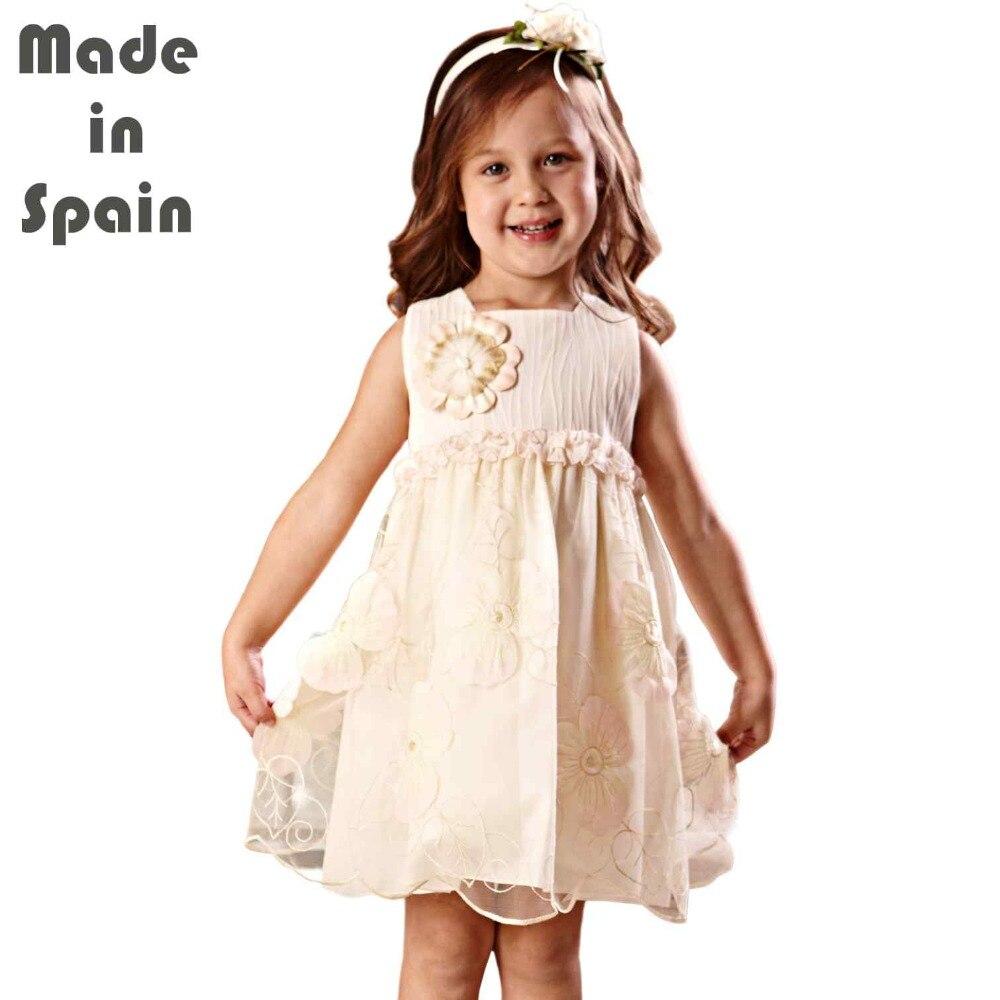 i-lollipop Luxury Flower Girl Dresses Children Clothes Kids Girl Dress Tiny Fantasy Embroidery<br>