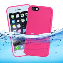 Waterproof Snowproof Swimming Phone Case For capinhas iPhone 5s SE 5 7 6 6S Plus 360 Full Sealed Front Back Two Piece TPU Cover