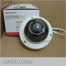 Original English Version DS-2CD1131-I Upgradable 3.0 MP POE CMOS IR IP67 Vandal-proof Mini Network Dome Camera