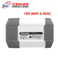 LATEST ALLSCANNER VXDIAG MULTI Diagnostic Tool For BMW and Benz Powerful than Icom A2 A3 NEXT MB Star C3 C4 Original software