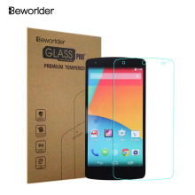 Nexus5 2.5D 0.26mm 9H Premium Tempered Glass For LG Google Nexus 5  With Retail Box Screen Anti Shatter Protector Film