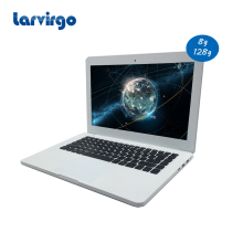 2017 brand new windows 7/8/10 system 13.3 inch White laptop 8G ram 128GB SSD built in camera computer(China)