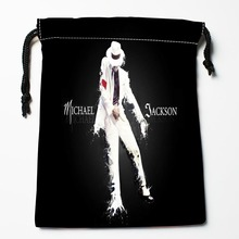 Best Michael Jackson Art 02 Drawstring Bags Custom Storage Printed Receive Bag Compression Type Bags Size 18X22cm Storage Bags