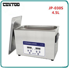 COXTOD JP-030S Digital Ultrasonic Washer 4.5L Limpiador Ultrasonico Watches Dental Ultrasonic Cleaner Bath
