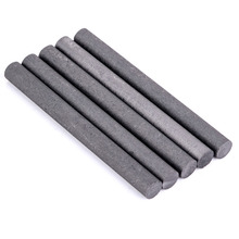 5pcs Black Carbon Rod Mayitr 99.99% Graphite Electrode Cylinder Rods Bars 100x10mm For Industry Tools
