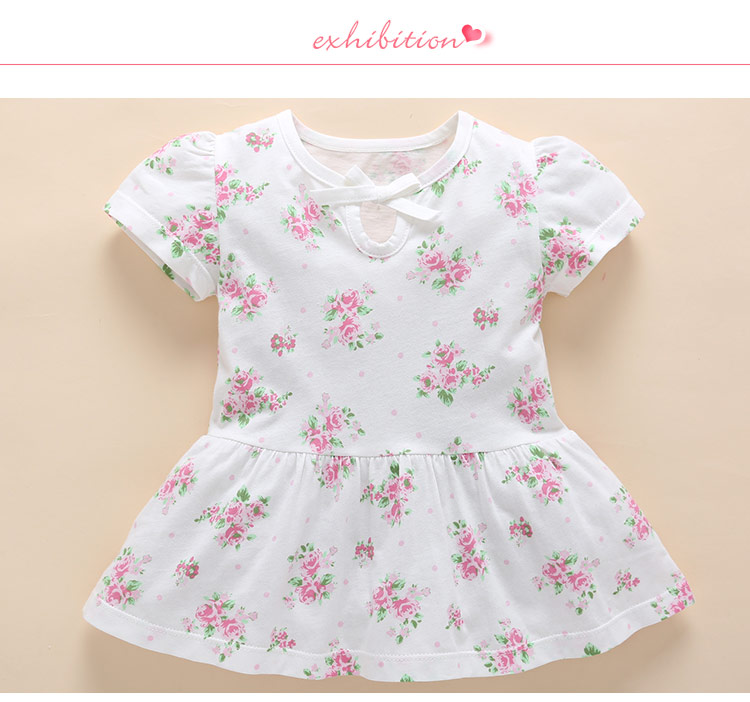 Floral bow dress (5)