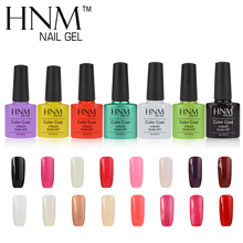 HNM 8ml Nail Polish Color Nail Gel Polish Vernis Semi Permanent Top Coat Base Coat Gel Lak Gel Varnishes UV Gel
