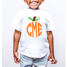 Custom Children pumpkin shirt toddler baby boys girls gift t-shirt Halloween Kids clothes summer autumn t shirt ETM-R2096