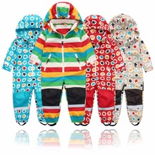Jacket Jumpsuit Waterproof Spring Girl Children's Boy And Outdoor Autumn 4-Styles