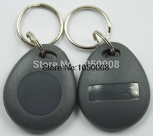 100pcs RFID 125KHz Tag TK4100 EM4100 Proximity ID Token Tags Key fobs Ring RFID Card for Access Control Time Attendance
