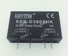 PCB Dedicated with Pins SSR-D3805HK 5A DC-AC Solid State Relay SSR-D3805HK