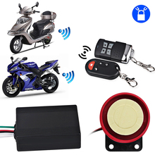 Remote Control Alarm Motorcycle Anti-Theft Security Alarm System Anti Theft Protection Alarm Motorbike Security For Honda Yamaha(China)