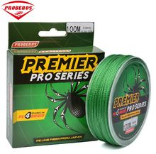 100M Fishing Line 4 Stands Braided fishing line available 6LB-100LB PE Line Fishing String Powerful Casting(China)
