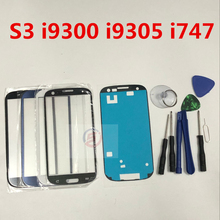 Front Outer Glass Lens Touch Screen Replacement for Samsung Galaxy S3 i9300 i9305 i747 + Repair Tools & Adhesive(China)