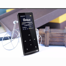 High quality Bluetooth MP3 HIFI Music Metal MP4 Players 8GB Support Touch Screen bluetooth media player speaker(China)