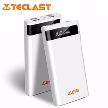 Teclast T200CE 20000mAh Powerbank Charger 4 Output 8 Pin Micro USB Mobile Backup For iphone Android Bateria Externa Power Bank