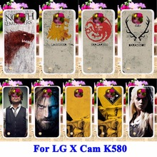 AKABEILA Hard PC Cell Phone Cases For LG X Cam K580 K580Y X-cam K580 K580DS Housing Covers Game Thrones Breaking Bad Painted