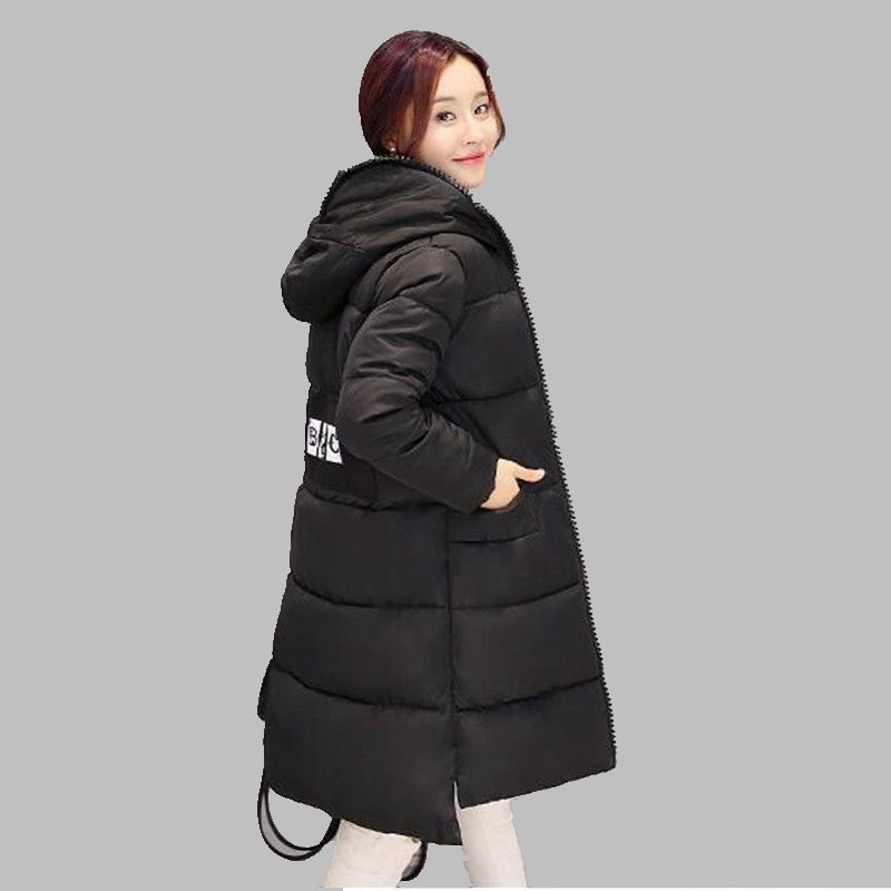 Women Winter Jacket New Fashion Hooded Jacket Thick Warm Cotto Down jacket Slim Large size Leisure Charm Womens clothing G2854Одежда и ак�е��уары<br><br><br>Aliexpress