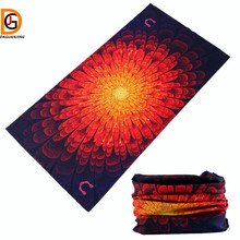 DaGuanJing Most Popular and Favorite The Red Blue Yellow Hair Camo Purple Bandana Pattern New Design Cool Bandanas on Head