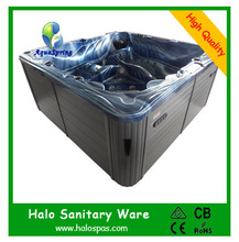7802 Portable spas whirlpool jetted tub corner whirlpool tubs free shipping(China)