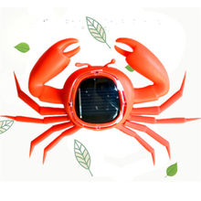 Kid Solar Energy Powered Toy Mini Kit Novelty Power Crab Ant Robot Bug Grasshopper Educational Gadget Toy For Children Baby(China)