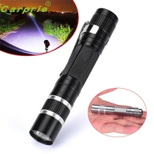 High quality Mini 1200LM High Power Torch Cree Q5 LED Tactical Flashlight AA Lamp Light 170307