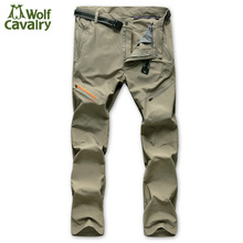 CavalryWalf Mens Quick Dry Camping Hiking Pants Men Summer Mountain Climbing Trousers Trekking Travel Outdoor Sport Pants,AM003
