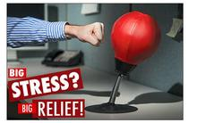 Stress Reliever Table-wall Pugilism Ball Desktop Punching Bag Vertical Boxing Ball Vent Decompression Office Toys Training Tools