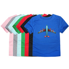 Little Bitty children boys girls t-shirt for girls children kids T shirt boys t shirt airplane kids t shirts baby boy tshirt