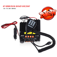 New Band Car Mobile Transceive Mini Car Radio VHF 136 - 174 UHF 400 - 480MHz Two Way Radio Programming Cable For Bus Taxi