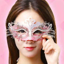 CHASANWAN 2017 Fashion Halloween Mask Gold Shining Plated Party Mask Wedding Props Masquerade Mardi Gras Mask ,Free Shipping.J