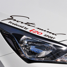 10 Pieces New Arrival Sports Mind On Car Lamp Eyebrow Car Covers Sticker Decal Car-Styling For hyundai i20 car accessories