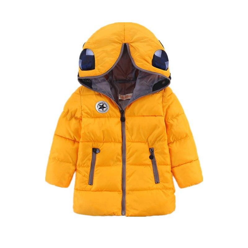 Babys Outerwear Coat Fashion Kidss for Boy Girls Winter Jacket Warm Hooded Children ClothingОдежда и ак�е��уары<br><br><br>Aliexpress