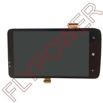 For HTC 7 Trophy T8686 LCD with touch assembly by free DHL, UPS or EMS; 5pcs/lot<br><br>Aliexpress