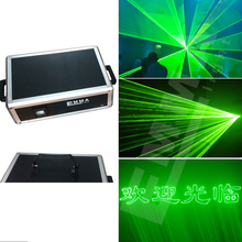 2w laser green ilda / company event multimedia laser show animation beam stage light(China)