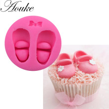 1PCS Ballet shoes Shape Food Grade Silicone Soap, Chocolate, Cake  Silicone Cake Molds, Fondant Cake Decorate X059