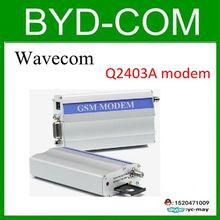 freeship wavecom Q2403A GSM modem for RS232 industrial report equipment 14.4 kbit/s(China)