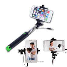 Factory 5 Color Selfie Stick Monopod For Wiko Alcatel iPhone Samsung LG ZTE ASUS Xiaomi Huawei Sony LG HTC ACER Cubot Doogee(China)