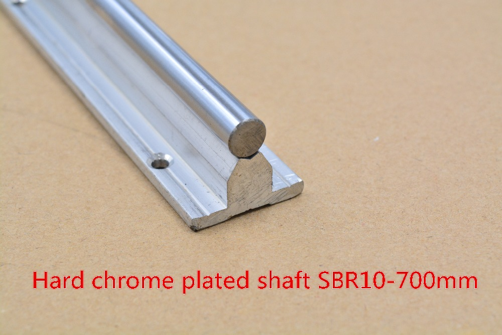 SBR10 linear guide rail length 700mm chrome plated quenching hard guide shaft for CNC 1pcs<br><br>Aliexpress